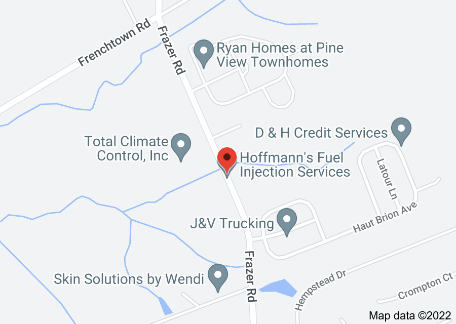 Location of Hoffmann's Fuel Injection Services