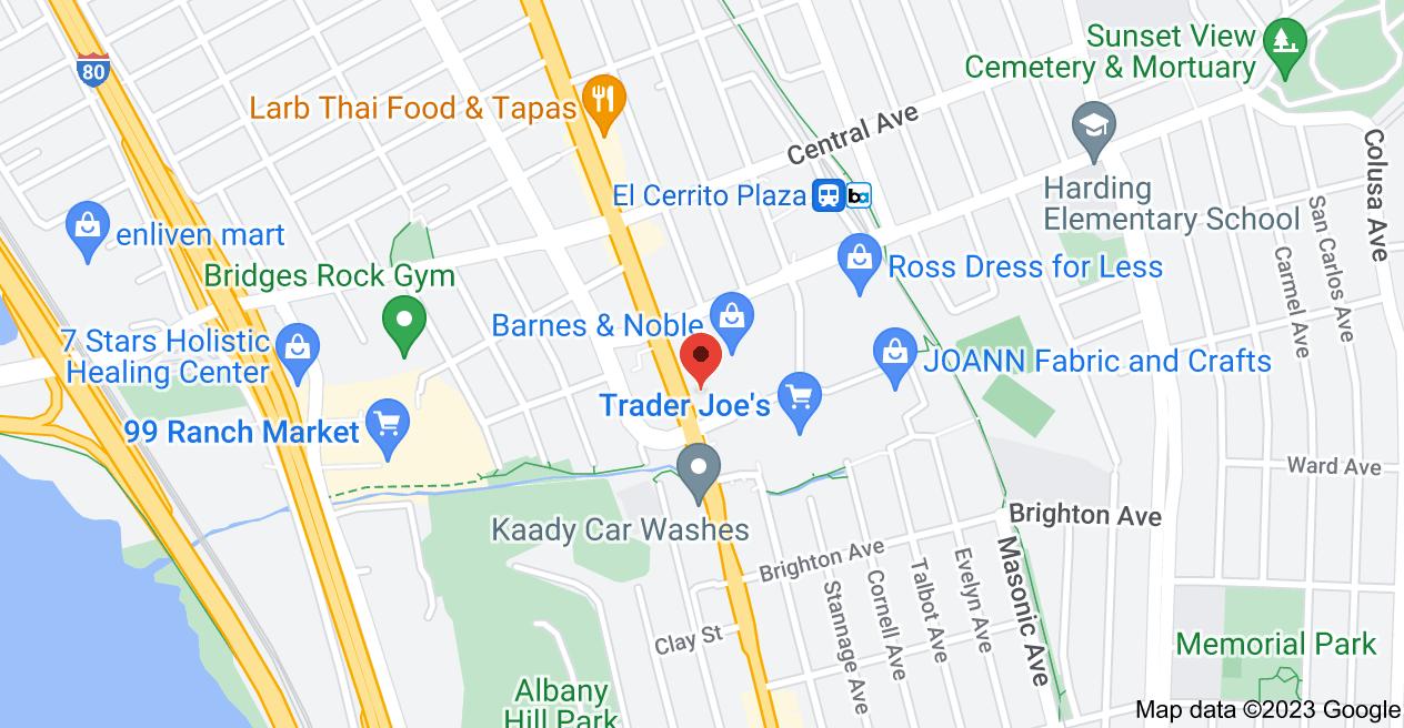 Map of 7000 El Cerrito Plaza, El Cerrito, CA 94530