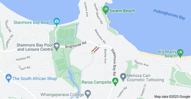 Location of Berdinner Road