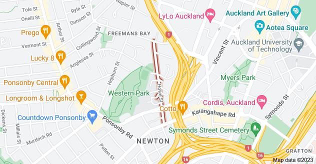 Location of Howe Street