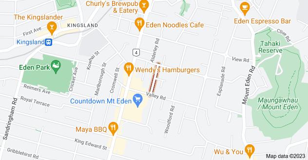 Location of Leamington Road