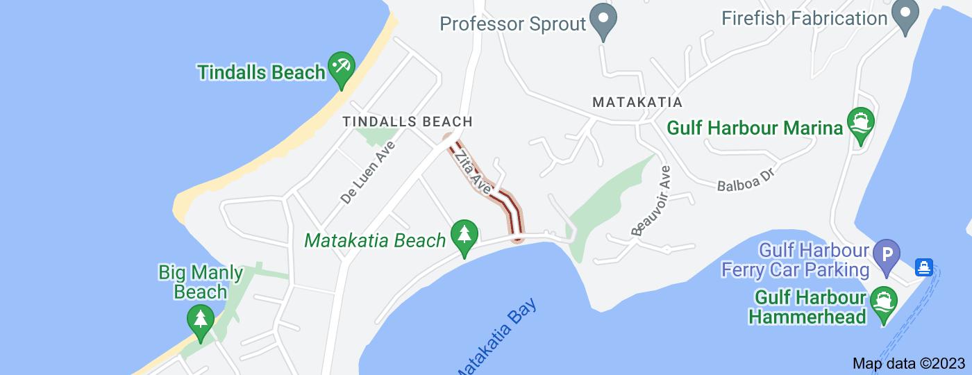 Location of Zita Avenue