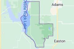 Map of Quincy Wisconsin