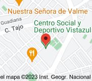 Mapa de Centro Social y Deportivo Vistazul