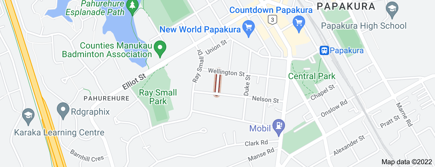 Location of West Street