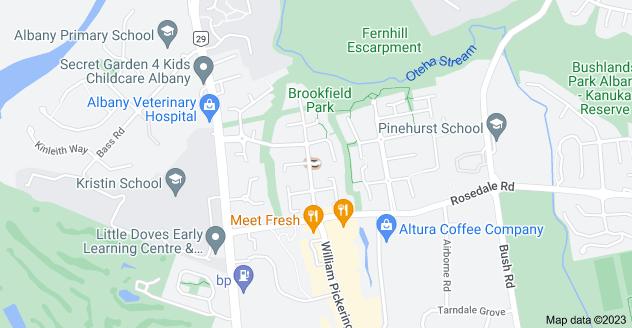 Location of Bryn Mawr Place