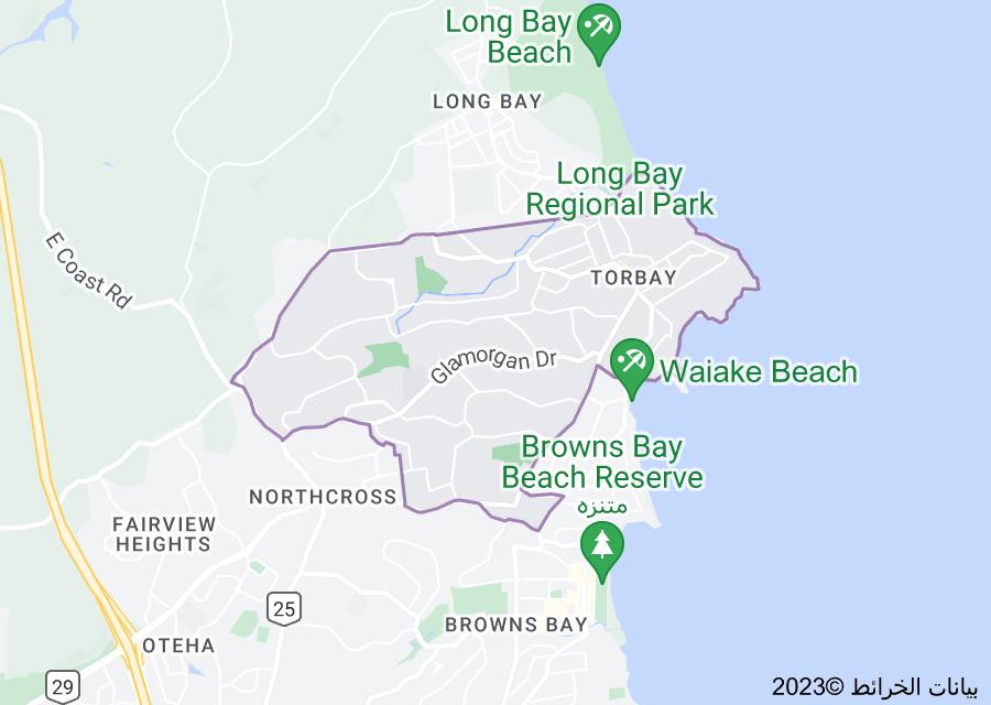 Location of Torbay