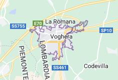 Mappa di: Voghera