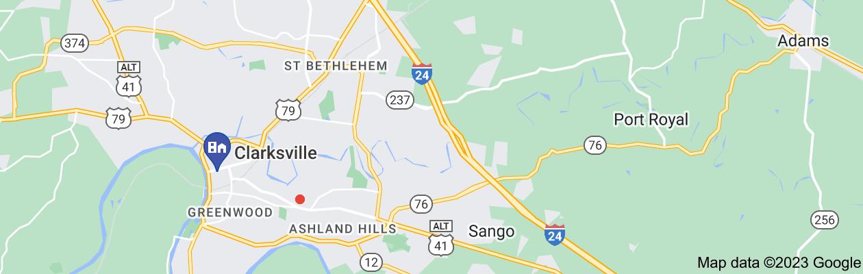 Map of private investigator clarksville tn