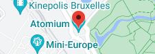 Location of Atomium
