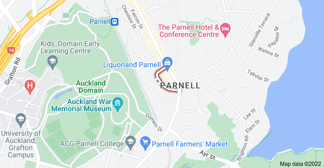 Location of Birdwood Crescent