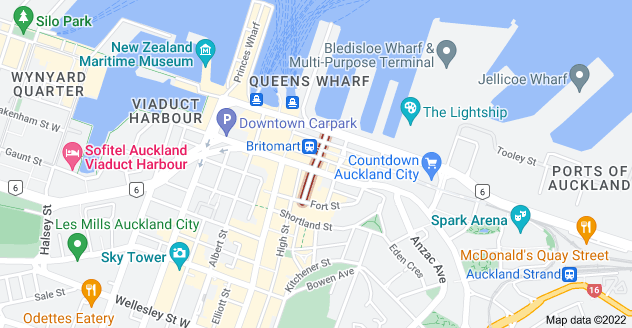 Location of Commerce Street
