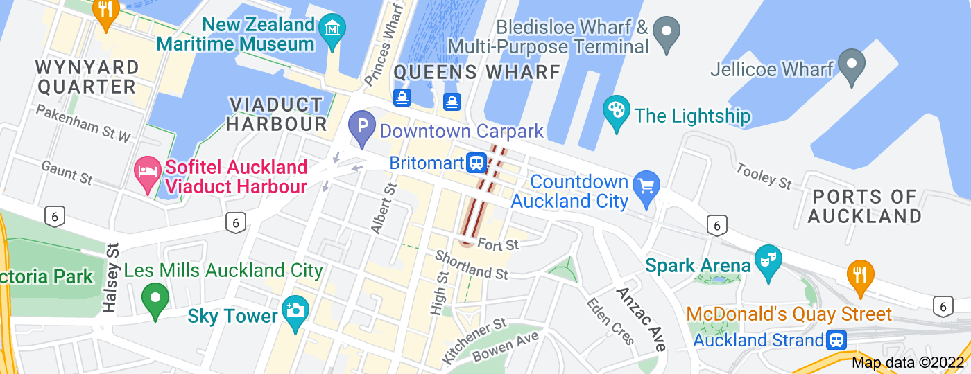 Location of Commerce Street