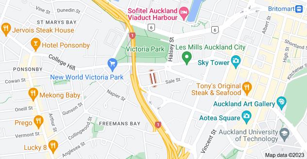 Location of Centre Street
