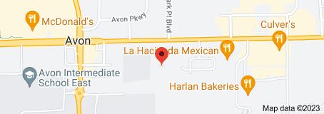 Location of Avon Community School Corporation