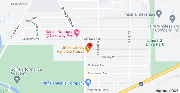 Map of 4001 Portage Street, Kalamazoo, MI 49001, USA
