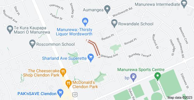 Location of Hoturoa Place