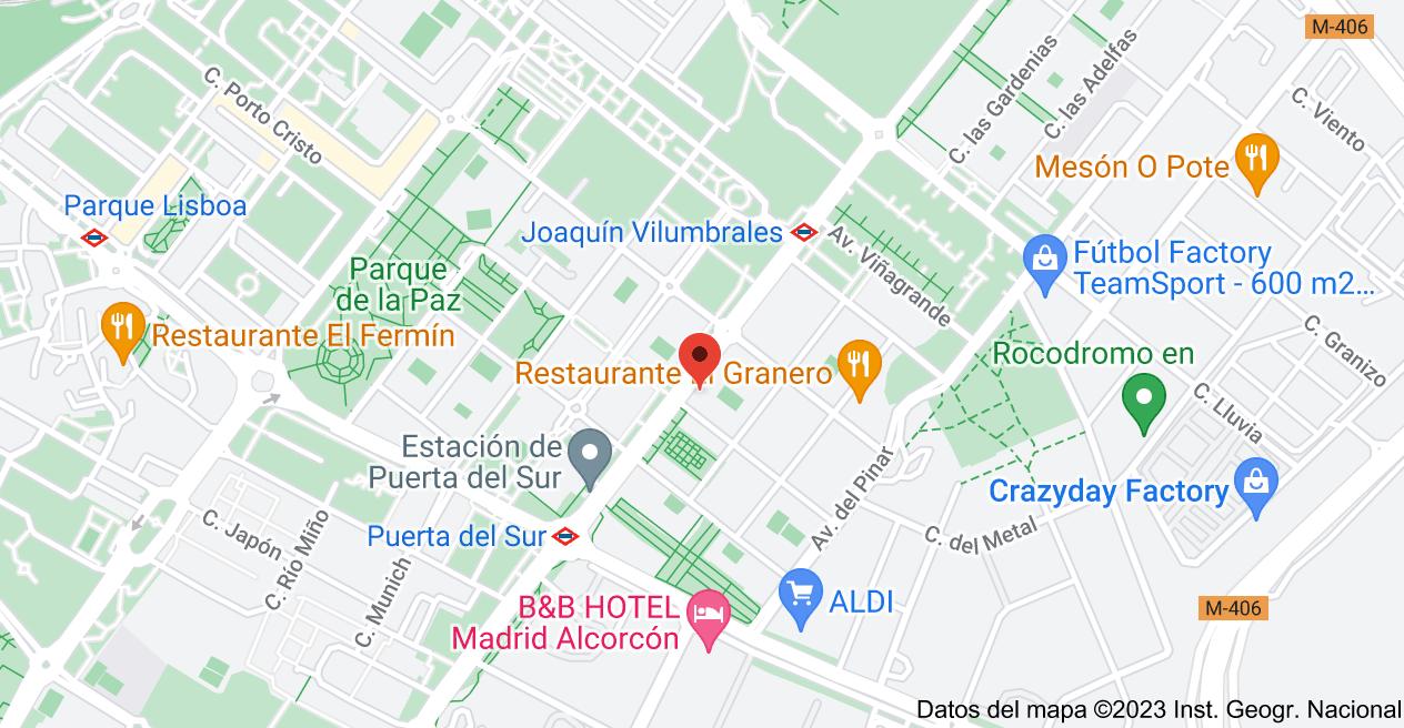 Mapa de Calle Parque Bujaruelo, 7, 28924 Alcorcón, Madrid