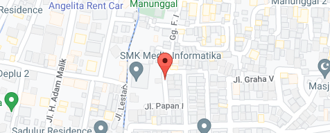 Peta lokasi bisnis