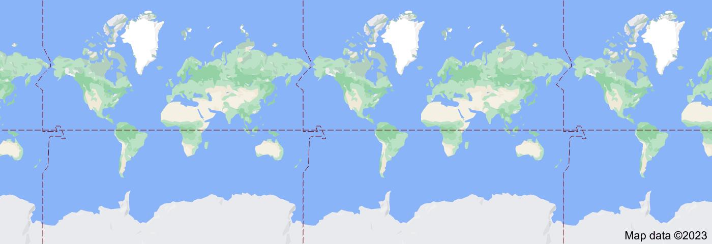 Location of Americas