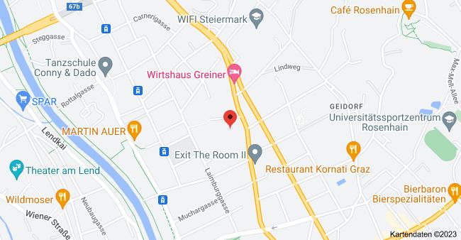Karte von Grabenstraße 31, 8010 Graz