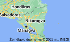 Location of Nikaragva