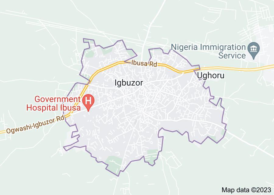 Location of Igbuzor