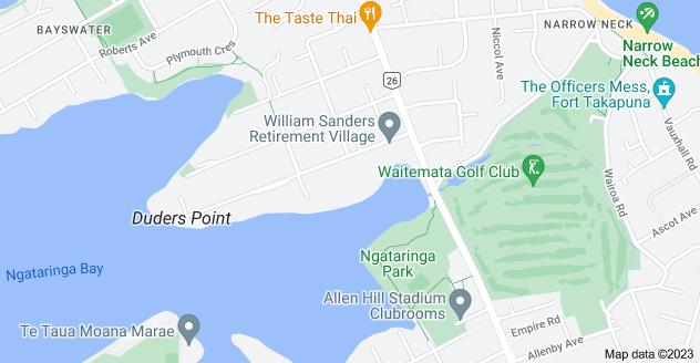 Location of Wakakura Crescent