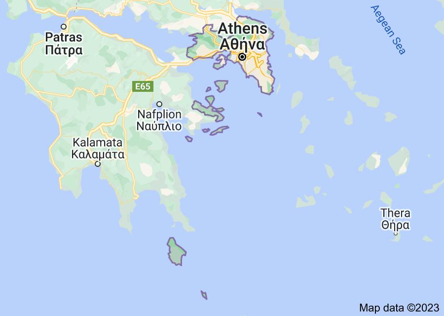 Location of Attica