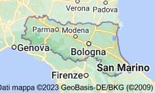Mappa di: Emilia-Romagna