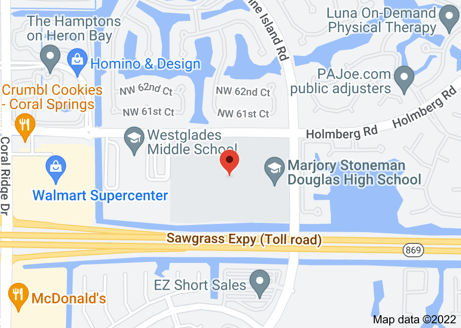 Location of Marjory Stoneman Douglas High School
