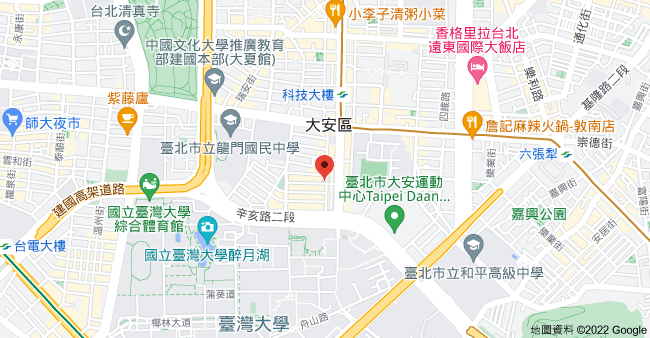 106台北市大安區和平東路二段118巷48號地圖