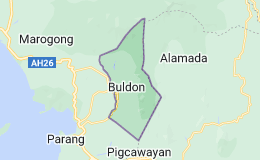 Map for Buldon Philippines