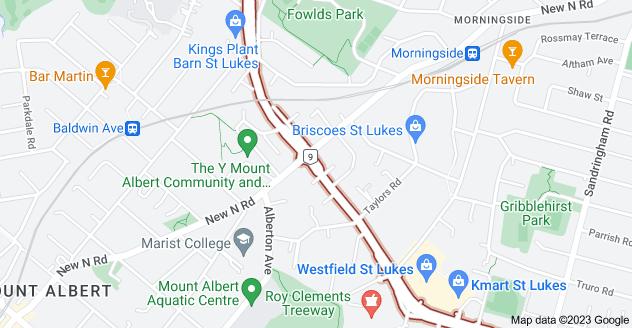 Location of Saint Lukes Road