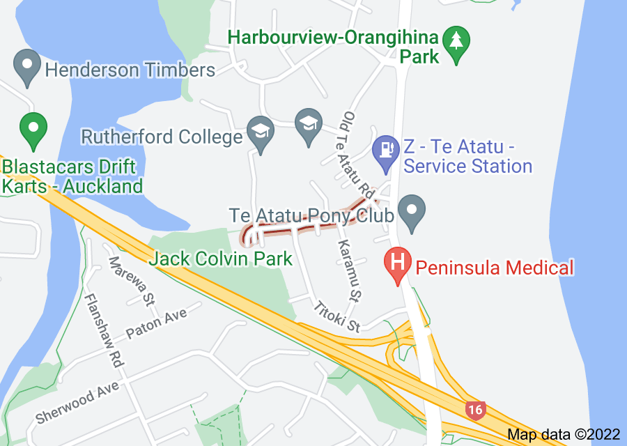 Location of Toru Street