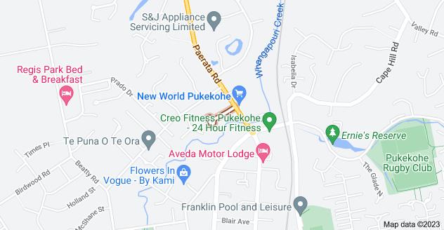 Location of Crisp Avenue