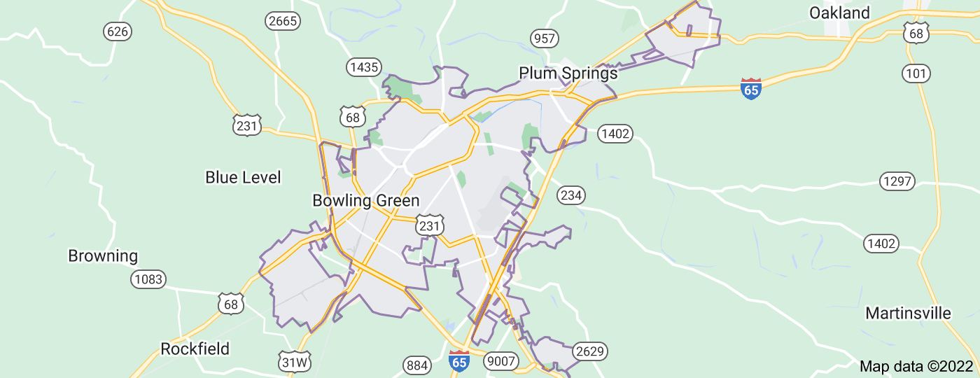 Location of Bowling Green