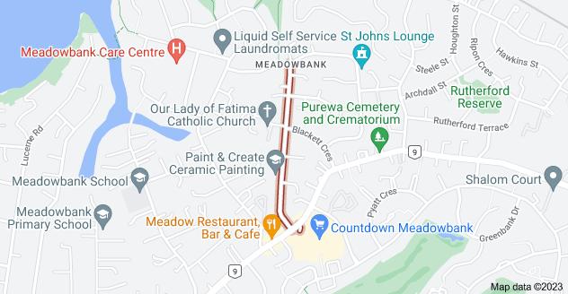 Location of Temple Street