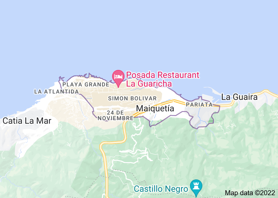 Location of Maiquetía