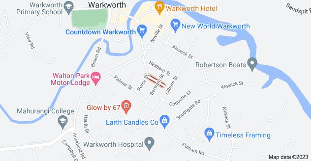 Location of Bambro Street