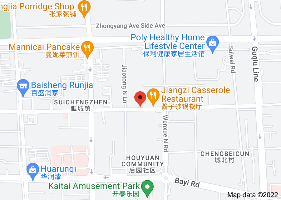 Location of The People's Bank of China