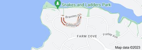 Location of Fielding Crescent