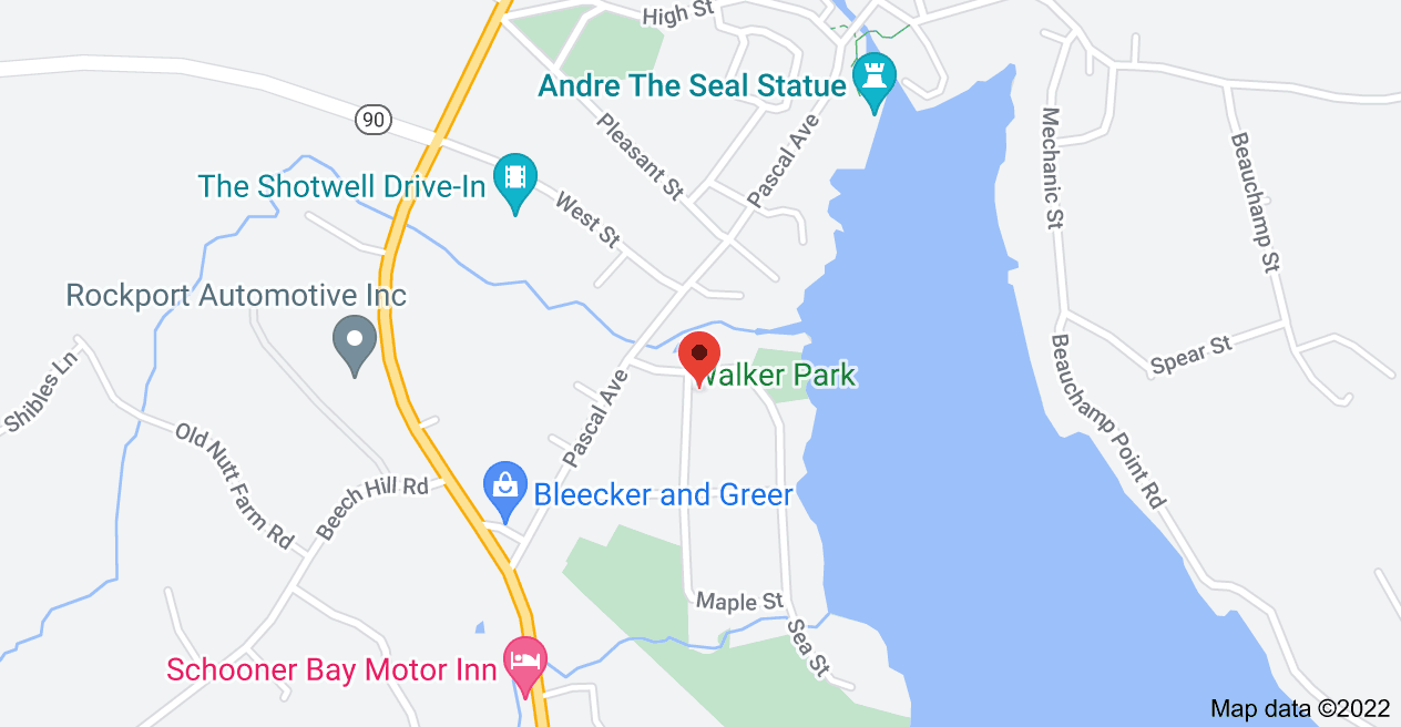 Map of 43 Spruce St, Rockport, ME 04856