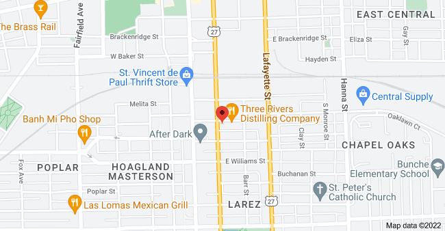 Map of 1801 S Clinton St, Fort Wayne, IN 46803