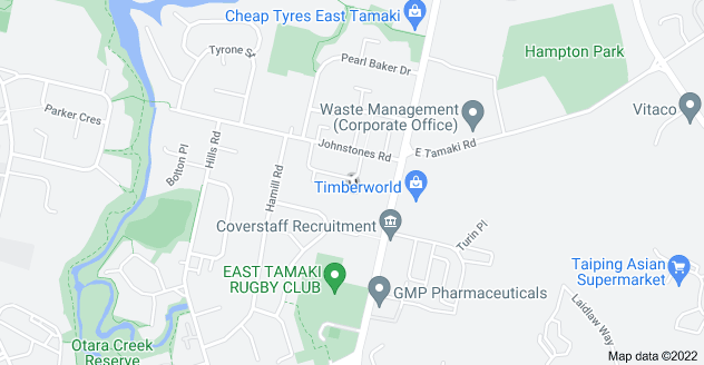 Location of Tate Place