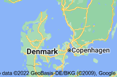 Location of Danmörk