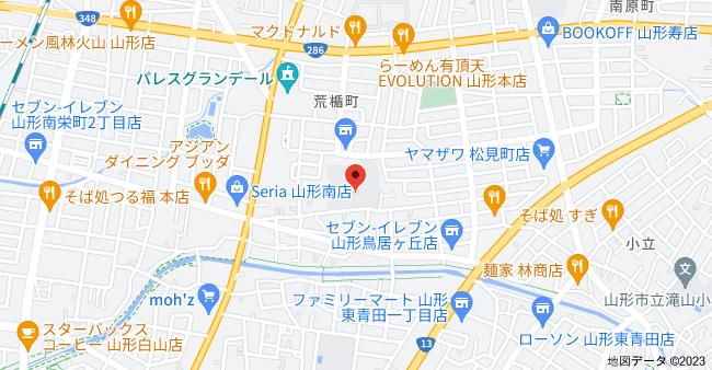 〒990-2433 山形県山形市鳥居ケ丘4−55の地図