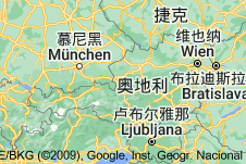 Location of 奥地利
