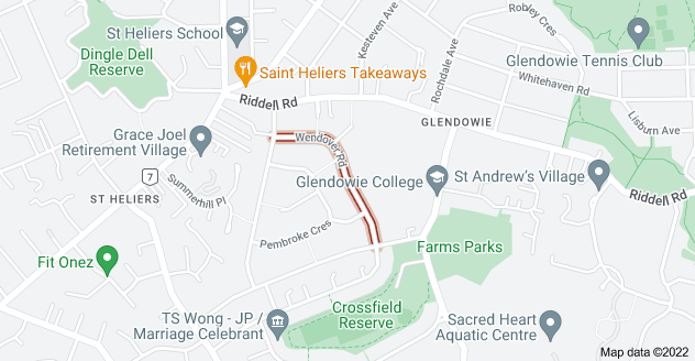 Location of Wendover Road