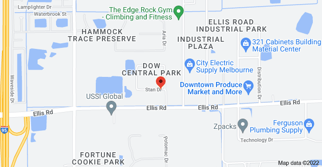 Map of 315 Stan Dr STE 7, Melbourne, FL 32904